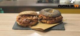 Pronto e postato - ricetta Slow chicken bagel di Benedetta Parodi