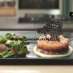Pronto e postato - ricetta Tartare di salmone ai lamponi di Benedetta Parodi