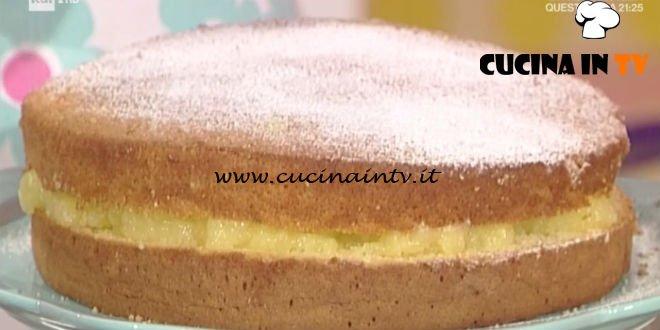 La Prova del Cuoco - Torta al limone di Liliana ricetta Anna Moroni