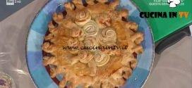 La Prova del Cuoco - Torta rustica con girelle di sfoglia salmone e ricotta ricetta Sergio Barzetti