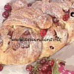 La Prova del Cuoco - Golosa e soffice treccia alle ciliegie ricetta Sergio Barzetti