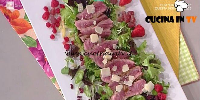 La Prova del Cuoco - Tris di tagliate con verdure ricetta Fabrizio Nonis