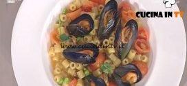 La Prova del Cuoco - Tubetti con le cozze ricetta Gianfranco Pascucci
