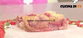 La Prova del Cuoco - Clafoutis di fragole cocco e lime ricetta Anna Moroni