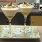 Pronto e postato - ricetta Coppa al cioccolato bianco e frutto della passione di Benedetta Parodi