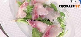 La Prova del Cuoco - Crudi di pesce ricetta Gianfranco Pascucci