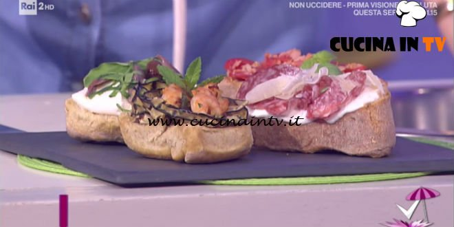 Detto Fatto - Fantasia di friselle ricetta Ilario Vinciguerra