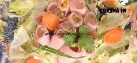 La Prova del Cuoco - Rosette di vitello tonnato ricetta Andrea Mainardi