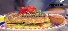 La Prova del Cuoco - Tortilla spagnola con salsa romesco ricetta Gianfranco Povedilla