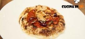 Masterchef Italia 6 - ricetta Pizza al contrario alla puttanesca con tarallo napoletano di Rosanna Marziale