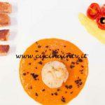 Masterchef Italia 6 - ricetta Variazioni di capesante e foie gras di Vittoria Polloni
