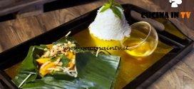 Masterchef Italia 6 - ricetta Filetto di orata al vapore al lemongrass e galanga in foglia di banano di Christiane Blanchet