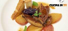 Masterchef Italia 6 - ricetta Foie gras con pesche caramellate e pan brioche di Giulia Brandi