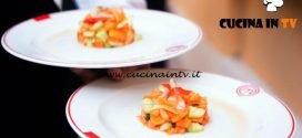 Masterchef Italia 6 - ricetta Insalata di frutta con frutti di mare di Michele Pirozzi
