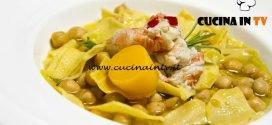 Masterchef Italia 6 - ricetta Maltagliati di kamut con scampi ceci e burro rosa di Giulia Brandi