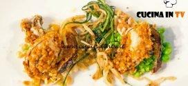 Masterchef Italia 6 - ricetta Ostriche impanate di Gabriele Gatti