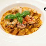 Masterchef Italia 6 - ricetta Quadrucci in cocotte di trippa con crostacei al profumo di aglio e alloro di Bruno Barbieri
