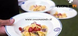 Masterchef Italia 6 - ricetta Ravioli con calamari e tartufi di mare di Cristina Nicolini