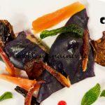 Masterchef Italia 6 - ricetta Ravioli di cavolo viola con paté di fegato e frutta fresca di Loredana Martori