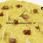 Masterchef Italia 6 - ricetta Risotto alla zucca con salamella mantovana e cialda di grana di Michele Ghedini