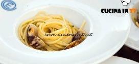 Masterchef Italia 6 - ricetta Spaghetti aglio olio peperoncino e vongole di Giulia Brandi