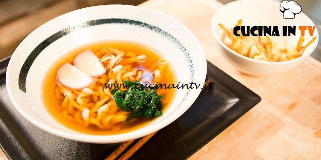 Masterchef Italia 6 - ricetta Tempura udon noodle soup di Michele Ghedini