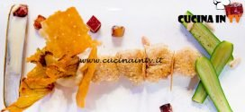 Masterchef Italia 6 - ricetta Ali di razza in crosta di pinoli su crema dolce di pastinaca di Loredana Martori