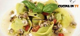Masterchef Italia 6 - ricetta Cappellacci di broccoli cagliata di latte e lumachine di mare di Antonino Cannavacciuolo