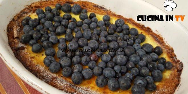 Cotto e mangiato - Cheesecake ai mirtilli ricetta Tessa Gelisio