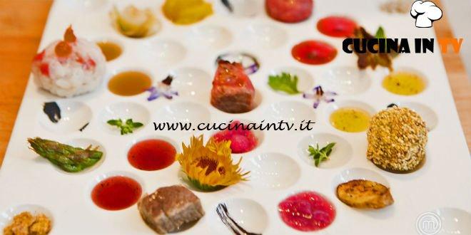 Masterchef Italia 6 - ricetta Cinque variazioni di Chianina di Gloria Enrico
