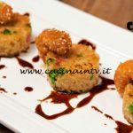 Masterchef Italia 6 - ricetta Finger di riso alla cantonese con code di gambero fritte al sesamo di Cristina Nicolini