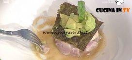 La Prova del Cuoco - Fishburger di ricciola con avocado e mou salato ricetta Ivano Ricchebono