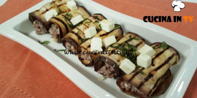 Cotto e mangiato - Melanzane ripiene di carne e feta ricetta Tessa Gelisio