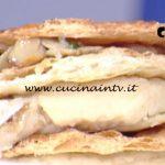 La Prova del Cuoco - Millefoglie di Arlettes con porcini e crema di patate ricetta Riccardo Facchini