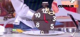 Detto Fatto - Orologio di cioccolato ricetta Mirco Della Vecchia