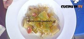 La Prova del Cuoco - Paccheri con pesciacci rosmarino e bottarga ricetta Gianfranco Pascucci