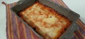 Cotto e mangiato - Pasticcio di zucchine uova e pecorino ricetta Tessa Gelisio