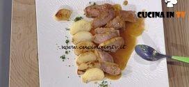 La Prova del Cuoco - Petto d'anatra con mele glassate ricetta Cristian Bertol