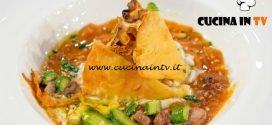 Masterchef Italia 6 - ricetta Pizza invertita al sapore di mare di Gloria Enrico