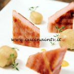Masterchef Italia 6 - ricetta Prosciutto alla griglia con knödel di patate e salsa alla senape di Michele Ghedini