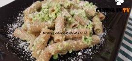 Cotto e mangiato - Rigatoni al pesto di zucchine bianche ricetta Tessa Gelisio
