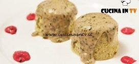Masterchef Italia 6 - ricetta Sformatini al porro su crema di gorgonzola e salsa agrodolce di Gloria Enrico