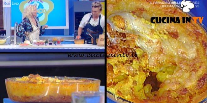 La Prova del Cuoco - Sformato di ragù e patate ricetta Andrea Mainardi