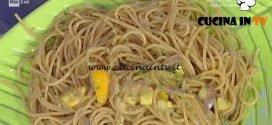 La Prova del Cuoco - Spaghettoni con fichi d'india ricetta Anna Moroni