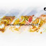Masterchef Italia 6 - ricetta Storione in crosta di pistacchio su salsa di yogurt di Michele Ghedini