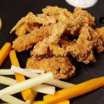 Masterchef Italia 6 - ricetta Straccetti di pollo fritti con tris di salse di Loredana Martori