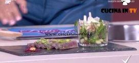 Detto Fatto - Tagliata di tonno e insalata del paradiso perduto ricetta Monica Micheli