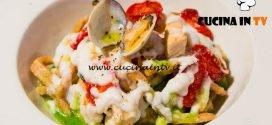 Masterchef Italia 6 - ricetta Tagliatelle integrali al ragù di pesce e finta besciamella di Cristina Nicolini