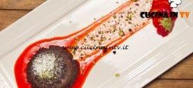 Masterchef Italia 6 - ricetta Tortini al cioccolato in bianco e nero e granella di pistacchi di Margherita Russo