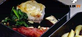 Masterchef Italia 6 - ricetta Trancio di pesce spada con gamberi e spinaci di Margherita Russo